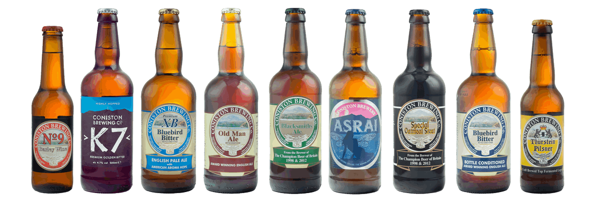 Coniston Brewing Co. Beers